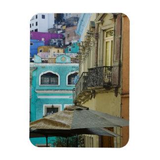 Mexico Guanajuato. Tätt packat sortiment av Magnet