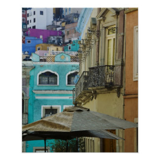 Mexico Guanajuato. Tätt packat sortiment av Poster