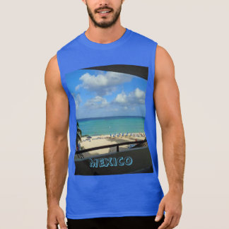 Mexico manar Ultra Sleeveless T-tröja Sleeveless Tröjor