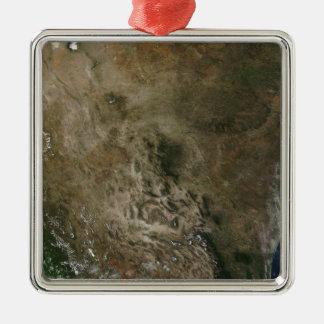 Mexico och det southwestern Unitedet States Julgransprydnad Metall