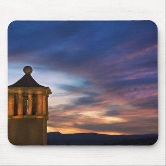 Mexico San Miguel de Allende. Solnedgång över Mus Mattor