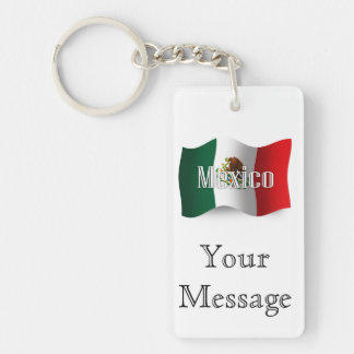 Mexico som vinkar flagga