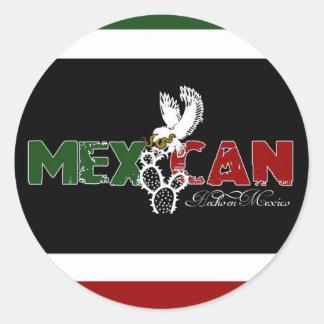 Mexikan Runt Klistermärke