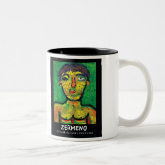 """Mexikanen"" vid Zermeno. Två-Tonad Mugg"