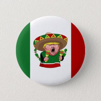 mexikanska Donald Trump Standard Knapp Rund 5.7 Cm