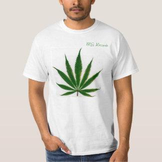 (Mg-rekord) den enkla T-Shirt.en Tröjor