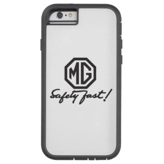 Mg-säkerhet fastar logotypen tough xtreme iPhone 6 fodral