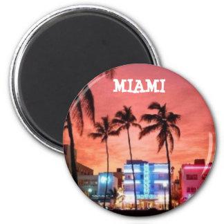 Miami Beach Florida Magnet