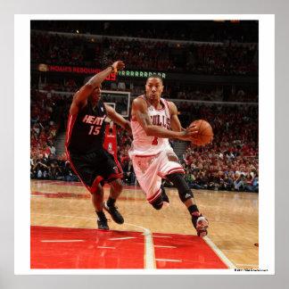 MIAMI FL - MAJ 22: Dwyane vadar trycket för #3 Mia Poster