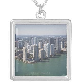 Miami horisont 2 silverpläterat halsband