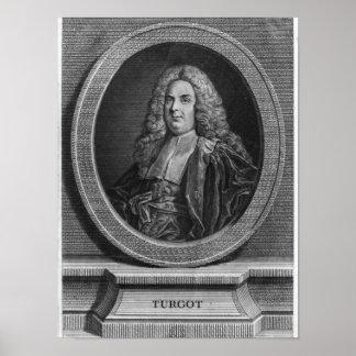 Michel Etienne Turgot Poster