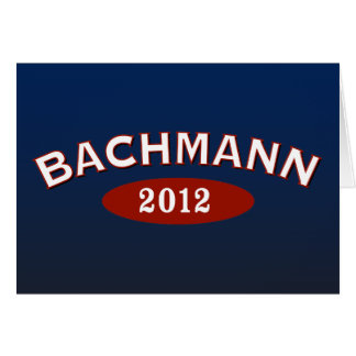 Michele Bachmann båge 2012 Hälsningskort