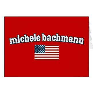 Michele Bachmann för Amerika Hälsningskort