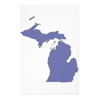 Michigan: En statlig BLÅTT Brevpapper