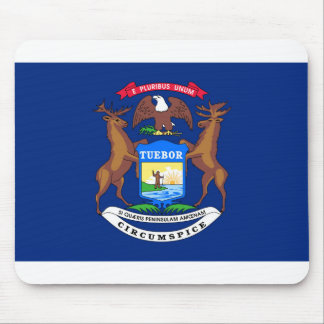 Michigan flagga musmatta