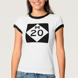 Michigan M-20 Tee Shirts