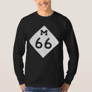Michigan M-66 T Shirt