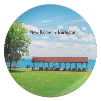 Michigan Tallrik