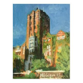 Michigan union Ann Arbor Vykort