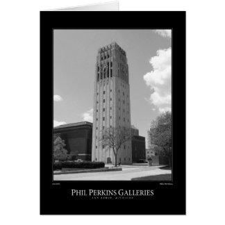 Michiganuniversitetet tar tid på torn hälsningskort