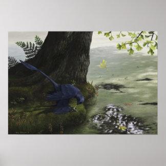 Microraptor Piscivory tryck