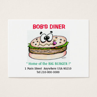 Middag- eller restaurangvisitkortar visitkort
