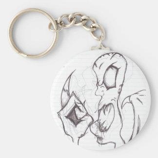 MiddleFinger (Keychain) Rund Nyckelring