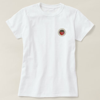 Middlesex sjukhuskvinna T-tröja (emblem endast T Shirts