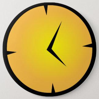 Middleskool tar tid på emblem jumbo knapp rund 15.2 cm