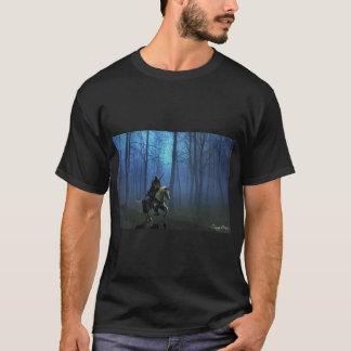 """""""MidKnight ritt"""" manar T-tröja Tee Shirts"""