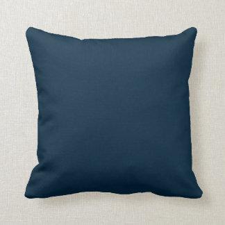Midnatt blåttsammet kudde