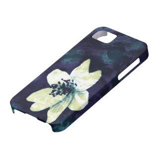 Midnatt blomma iPhone 5 Case-Mate fodral