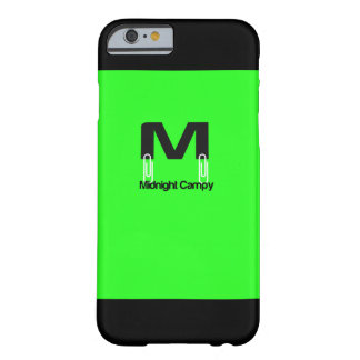 Midnatt Campy fodral Barely There iPhone 6 Fodral