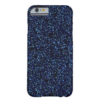 midnatt fodral för blåttglitteriPhone 6 Barely There iPhone 6 Skal