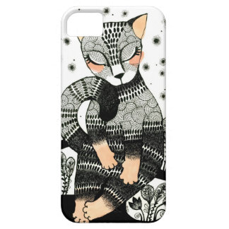 Midnatt katt iPhone 5 fodraler