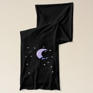 Midnatt kattunge sjal