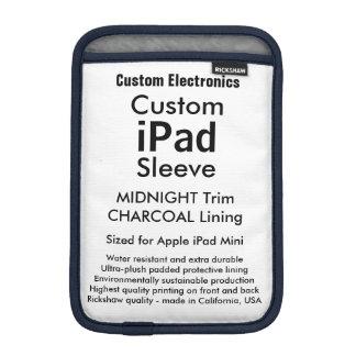 Midnatt mini- sleeve för beställnings- iPad - &