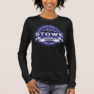 Midnatt mörk för Stowe logotyp Tshirts