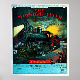 Midnatt reklamblad - tryck