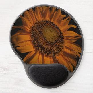 Midnatt solrosGel Mousepad Gelé Mus-matta