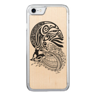 Midnatt surfa carved iPhone 7 skal