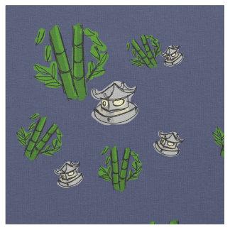 Midnatt tyg för bambuZenträdgård