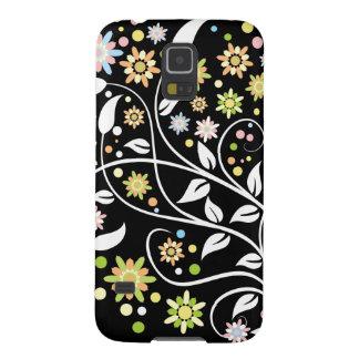 Midnatta blommor galaxy s5 fodral