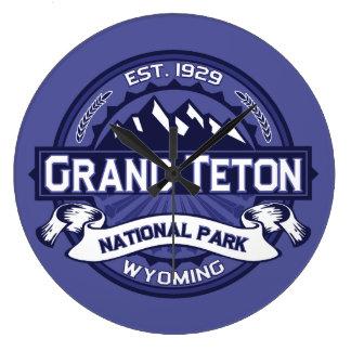 Midnatta storslagna Teton Stor Klocka