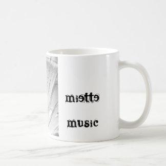 Miette musikmugg vit mugg