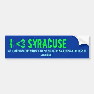 Mig <3 Syracuse, men… Bildekal