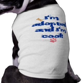 Mig adopterad förmiddag husdjurströja