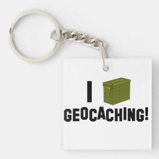 Mig (ammo kan), Geocaching Keychain