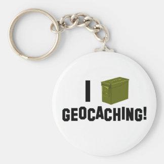 Mig (Ammo kan), Geocaching! Rund Nyckelring