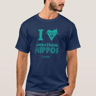 Mig Animatronic flodhästar för hjärta (AAHCS) Tee